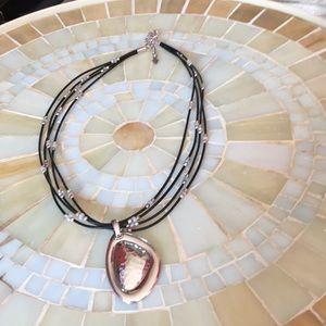 Silpada necklace with a Silpada pendant